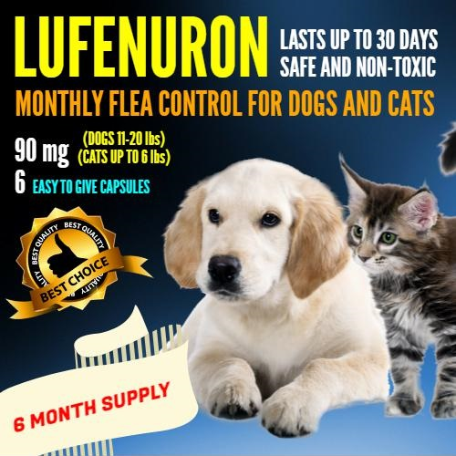 Lufenuron For Dogs And Cats
